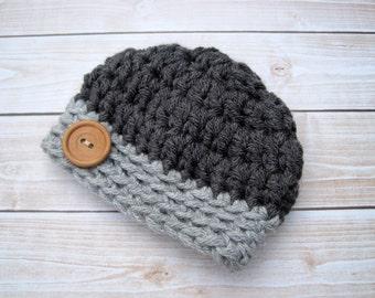 Newborn Hat Boy, Baby Boy Hat, Baby Boy Beanie, Hat for Baby Boys, Baby Boy Gift, Baby Crochet Hats,