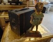 SALE Vintage Camera and Vintage Photo Paper Doll