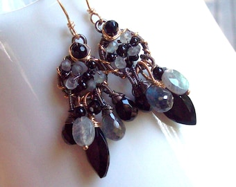 The Midnight Dance earrings