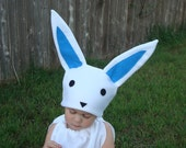Baby Bunny Costume Toddler Newborn Easter Costume Photo Prop Spring Rabbit Pink Blue