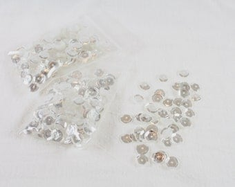 Moonshine Sequins - 8mm Slightly Cupped Sequins