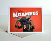AC's Krampuskarten Greeting Card