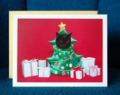 AC is the Christmas Tree Greeting Card