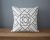 "18"" Organic Cotton Pillow - Southwest Collection- COLORADO - housewares"