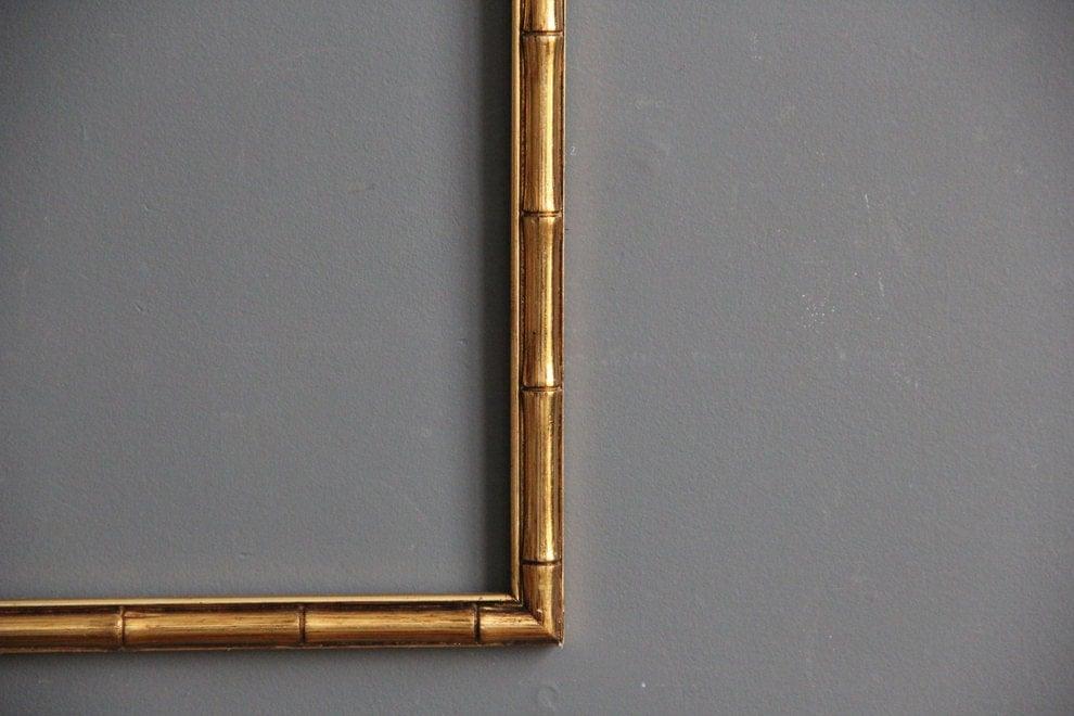 Gold Bamboo Frame | Olivero