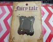 Fairy Tale Metal Pendant with Rhinestones