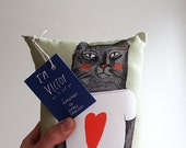 Pillow: Victor has a big heart