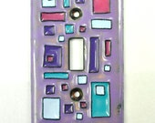 Free Shipping! Ready to Ship Handmade Enameled Light Switch Plate Cover