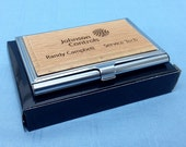 Business Card Holder,Personalized Business Card Holder,Groomsman Gift,Best Man Gift,Business Card Case