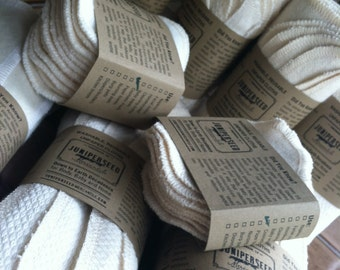 SALE ON SECONDS - Grab Bag of Unbleached Organic Fabric Products