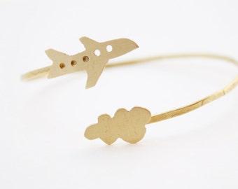 Brass bracelet, brass jewelry, travel bracelet,hand cut, adjustable bracelet, modern bracelet, gold jewelry, gold bracelet.