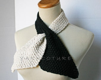 The Vintage Inspired Ascot Necktie - E.Ziyad Inspired Collection  / Dual Colors - YOU CHOOSE The Colors