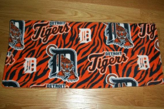 Detroit Tigers Pattern Fleece Receiving Blanket