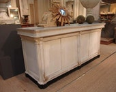 French Antique Repro Check out Counter/ Reception desk/ cash wrap/ island