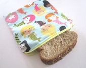Sandwich Bag in Mermaids