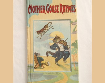 Mother Goose Rhymes Booklet Series 0901 early 1900s