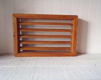 Vintage Solid Wood Flooring Vent
