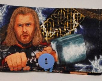 Fabric Business Card Holder Marvel Thor