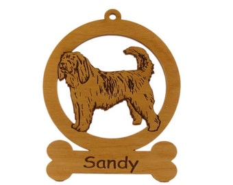 Otterhound Ornament 083646 Personalized With Your Dog's Name