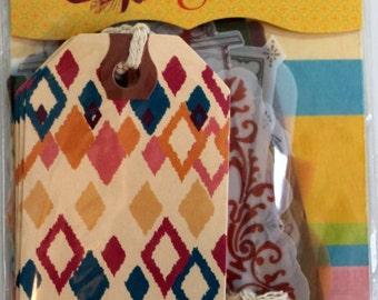 SEI Mixed Tags - Scrapbook Embellishments - Scrapbook Supplies - Vogue Tags