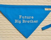 FUTURE Big Brother Dog Bandana TIE Style Sizes S to XL Choice of Fabric