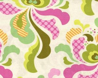 Heather Bailey • FRESHCUT groovy • oliv • Cotton Fabric 001601