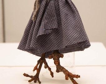 Miss Teak dance instructor Twig Art Doll