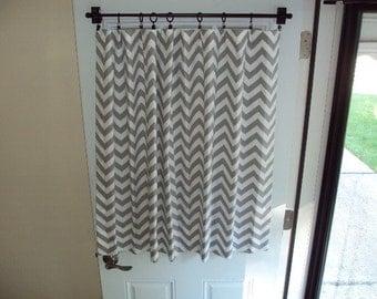 Shower Curtain No Liner Needed Garage Door Window Hardw