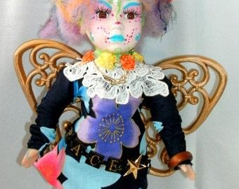 Space Fairy art Doll ooak work