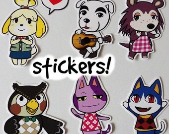 Animal Crossing - Cute Stickers