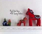 Plush Dala Horse PDF Sewing Pattern