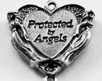 Angel Heart- 2 bails, Australian pewter.    H58
