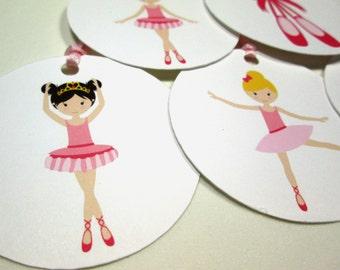 Ballerina Gift Tags