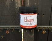 Khepri, Nourishing Fair Food.  Transform Dry Splitting Ends, Dry Scalp & Chemical Damage from Color or Perm.  Conditioning for ALL Hair