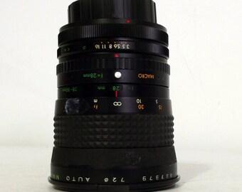 Vintage Makinon Zoom Lens for SLR camera