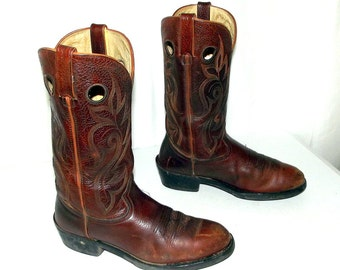 Brown Durango cowboy boots size 9 EE or womens size 10.5 wide width