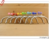 7 COLOR  Purse frame for make a purse / bag 5 inch  / Nickel