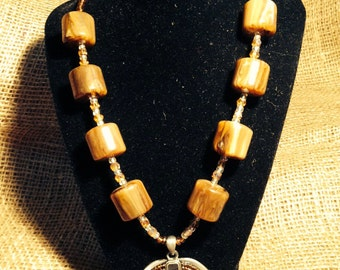 Loving Amber - Necklace