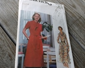 1970's  Butterick  Dress Pattern 5504 Uncut