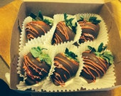Hand Dipped Chocolate Covered Strawberries