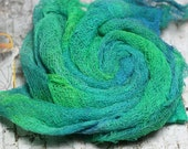 Hand Dyed Lightweight Open Weave Cotton Gauze Scrim Muslin Cheesecloth open  weave fabric Feltmaking Fabric