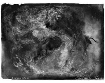 Migration - Original artwork by Françoise Stéfanski