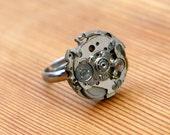 Circular Movement Mechanical Ring