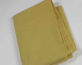Cotton Polyester Mix Poplin - Mustard