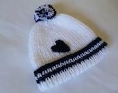 Knitted Baby Boy Hat. Newborn Boy  Beanie. Winter Baby Bonnet . Antiallergic Yarn. READY TO SHIP