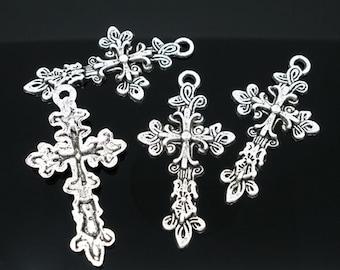 Cross Pendant - Set of 4 - #HK1048