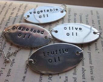 Custom Decanter Tag - Oil, Soap Etc.
