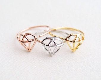 Diamond Inspired Ring