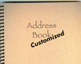 Customized Address Book