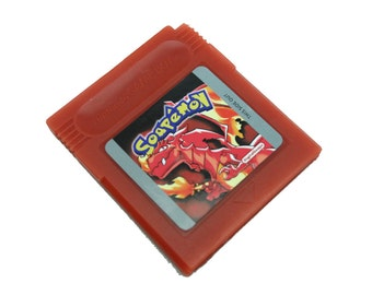 Soapemon Soap Gameboy Cartridge Red Parody, Dr Pepper type scent, Retro Video Game Geek Gift